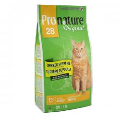 Pronature Original 28 Cat Adult Chicken no Corn, no Wheat, no Soy