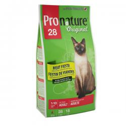 Pronature Original 28 Cat Adult Meat Fiesta no Corn, no Wheat, no Soy