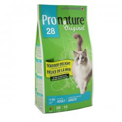 Pronature Original 28 Cat Adult Seafood Delight no Corn, no Wheat, no Soy