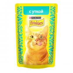 Корм Purina Friskies с уткой