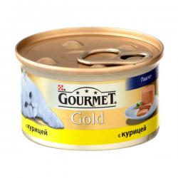 Корм для кошек Purina Gourmet Gold — паштет с курицей
