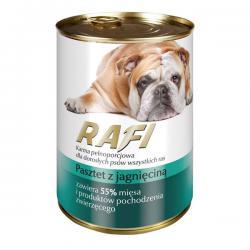 Корм для собак Rafi — паштет с ягнёнком