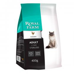 Корм для кошек Royal Farm Adult Cat Sterilized Chicken