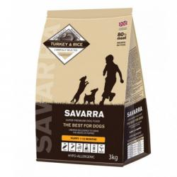 Корм для щенков Savarra Puppy Turkey & Rice Hypoallergenic