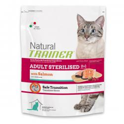 Корм для кошек Trainer Natural Adult Cat Sterilised Salmon