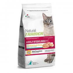 Корм для собак Trainer Natural Adult Cat Sterilised with Fresh White Meats