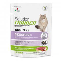 Корм для кошек Trainer Solution Sensitive Adult Cat Mono-Protein with Duck
