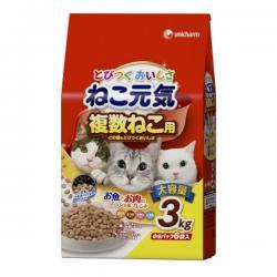 Корм для кошек Unicharm Cat Genki Chicken & Tuna