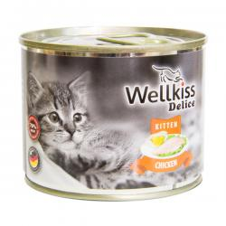 Корм для котят Wellkiss Delice Kitten Chicken