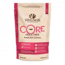 Корм для кошек Wellness Core Adult Cat Sterilised Salmon Grain Free Hypoallergenic
