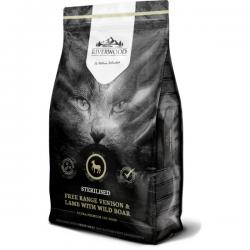 Корм для стерилизованных кошек Riverwood Free Range Venison & Lamb with Wild Boar Grain Free