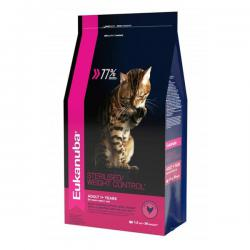 Корм Eukanuba Adult Cat Sterilized / Weight Control