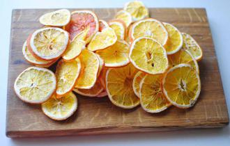 Дегидратированный сладкий апельсин