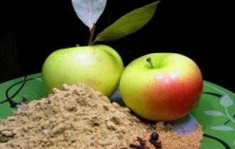Яблочный порошок