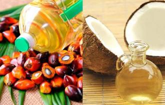 Растительные масла (пальмовое, кокосовое)