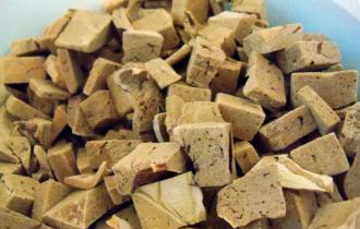 Сублимированная печень ягнёнка и утки