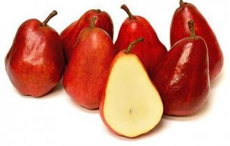Свежая груша сорта «Бартлетт»