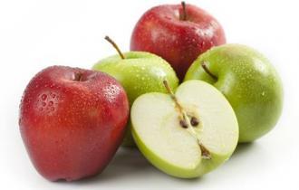 Свежие яблоки