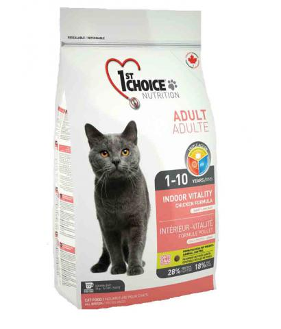 1st Choice Cat Adult Indoor Vitality Chicken Formula