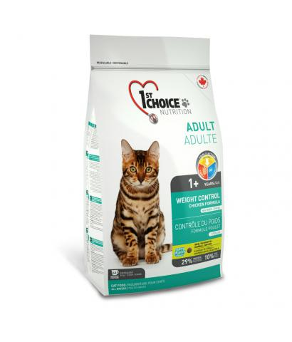 1st Choice Cat Adult Weight Control Chicken Formula