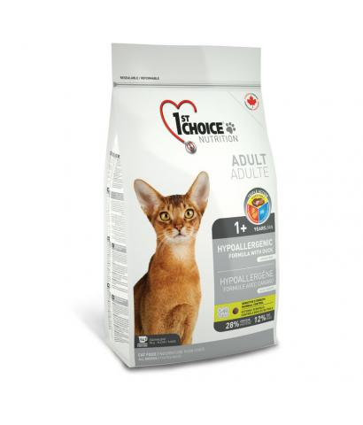 1st Choiсe Cat Adult Hypoallergenic Duck Formula Grain Free