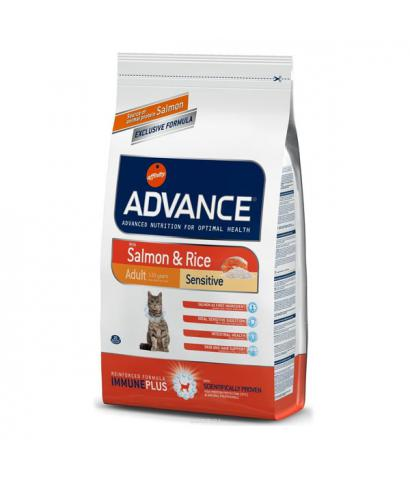 Корм для кошек Affinity Advance Adult Cat Sensitive with Salmon & Rice