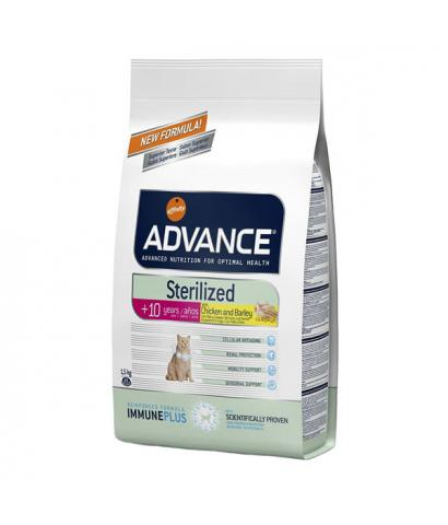 Корм для кошек Affinity Advance Cat Sterilized +10 with Chicken and Barley