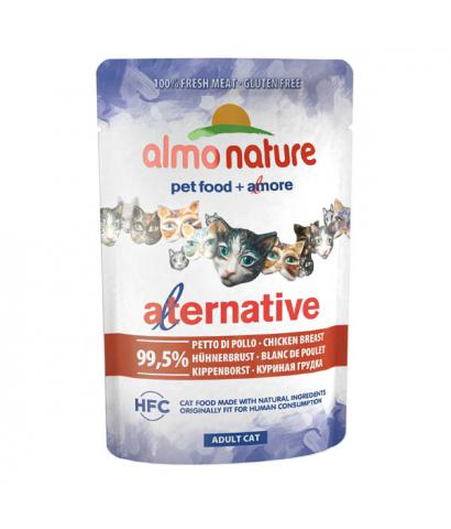 Корм для кошек Almo Nature Alternative Adult Cat Chicken Breast