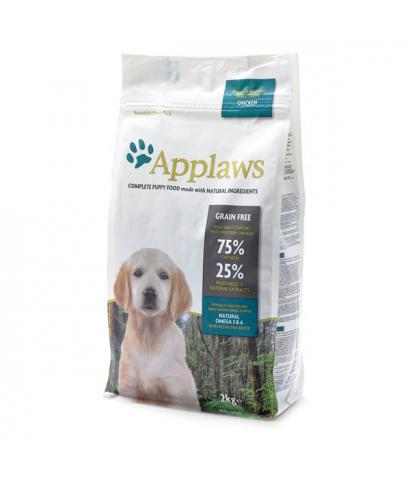 Корм для щенков Applaws Puppy Small & Medium Chicken Grain Free