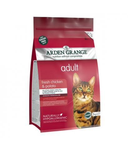 Корм для кошек Arden Grange Adult Cat Fresh Chicken & Potato Grain Free Hypoallergenic