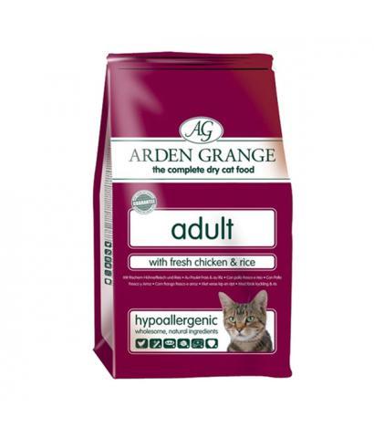 Arden Grange Adult Cat – with Fresh Chicken & Rice