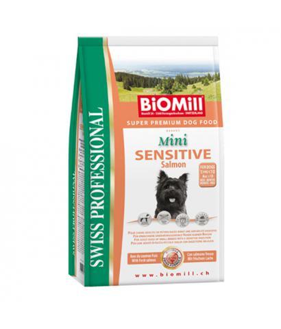 Biomill Swiss Mini Sensitive Salmon & Rice