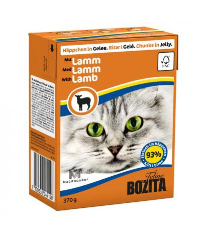 Корм для кошек Bozita Feline Lamb — Chunks in Jelly