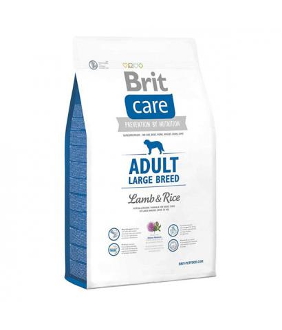 Корм для собак Brit Care Adult Dog Large Breed Lamb & Rice Hypoallergenic