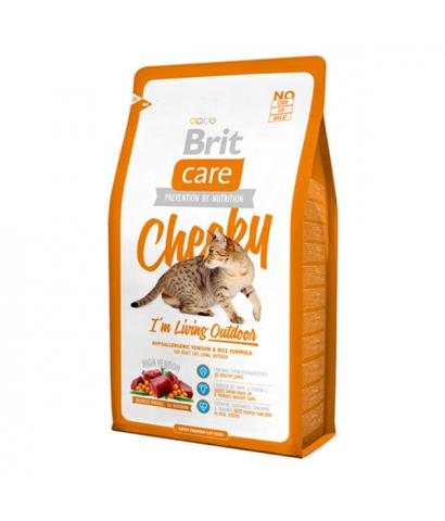 Корм для кошек Brit Care Cat Cheeky I'm Living Outdoor Venison & Rice