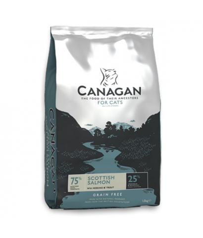 Корм для кошек Canagan Cat Scottish Salmon With Herring & Trout Grain Free