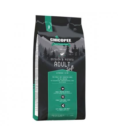 Корм для собак Chicopee Holistic Nature Line Adult Dog Ostrich & Potato Grain Free