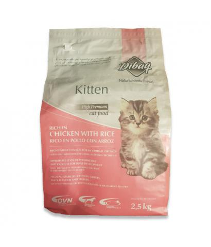 Корм для котят Dibaq Naturalmente Mejor Kitten Rich in Chicken with Rice