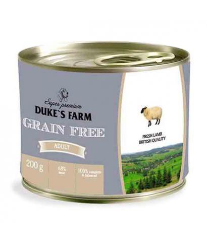 Корм для собак Duke's Farm Adult Dog Fresh Lamb Grain Free Wet