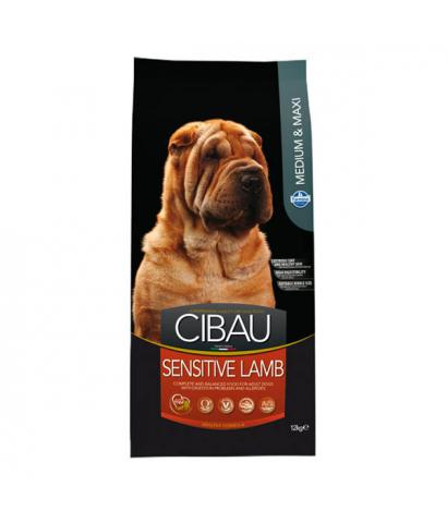 Корм для собак Farmina Cibau Adult Dog Sensitive Lamb Medium & Maxi