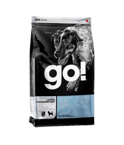 Корм для собак GO! Sensitivity+Shine Dog Pollock Grain Free, Potato Free