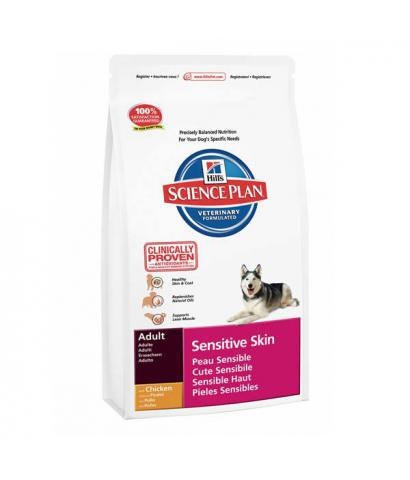 Корм Hill's Science Plan Canine Adult Sensitive Skin Chicken