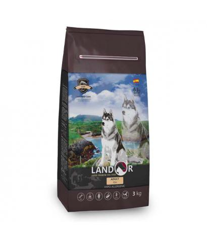 Корм для собак Landor Adult Dog Fish Hypoallergenic