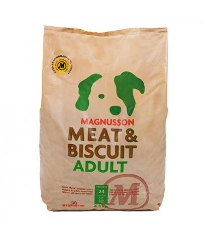Корм для собак Magnusson Meat & Biscuit Adult Dog