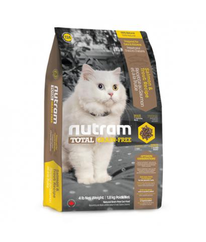 Корм для кошек Nutram Total Grain-Free® T24 Cats & Kittens Trout & Salmon