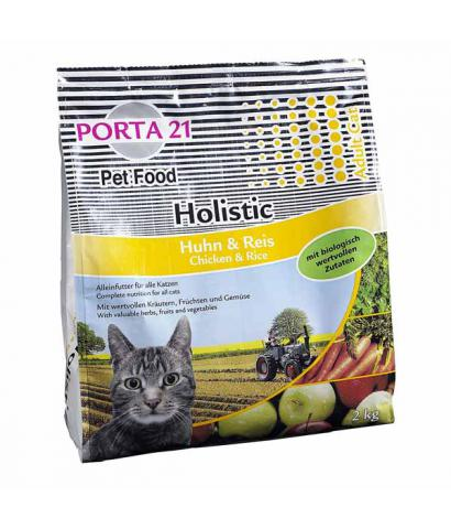 Корм для кошек Porta 21 Holistic Adult Cat Chicken & Rice