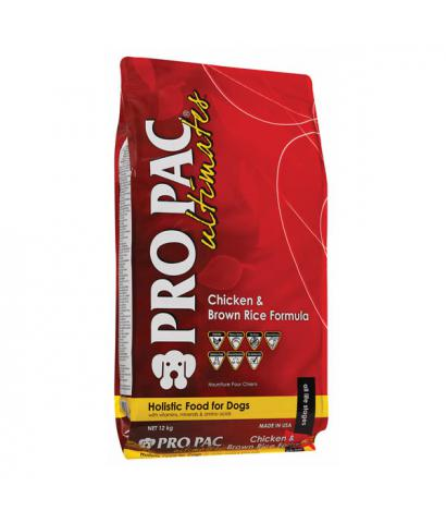 Корм Pro Pac Ultimates Chicken Meal & Brown Rice Formula