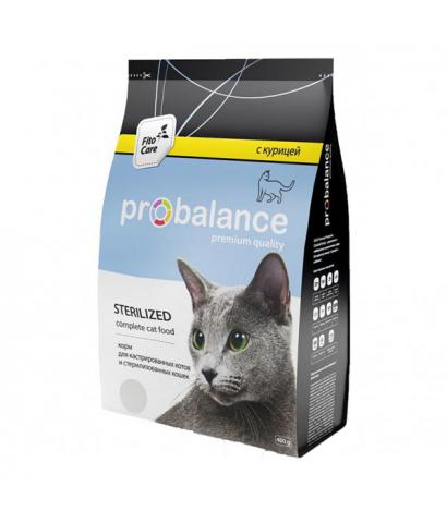 Корм для кошек ProBalance Cat Sterilized Chicken
