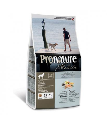 Корм для собак Pronature Holistic Dog Adult Skin & Coat Atlantic Salmon & Brown Rice