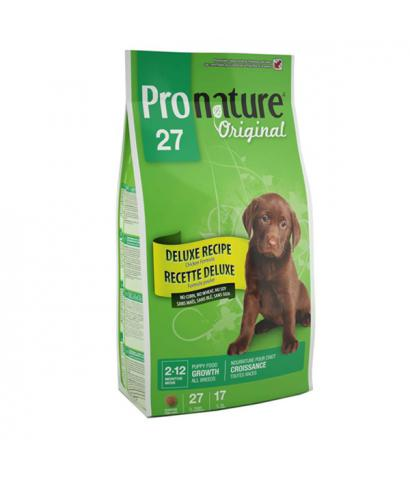 Pronature Original 27 Puppy – Growth All Breeds Chicken no Corn, no Wheat, no Soy